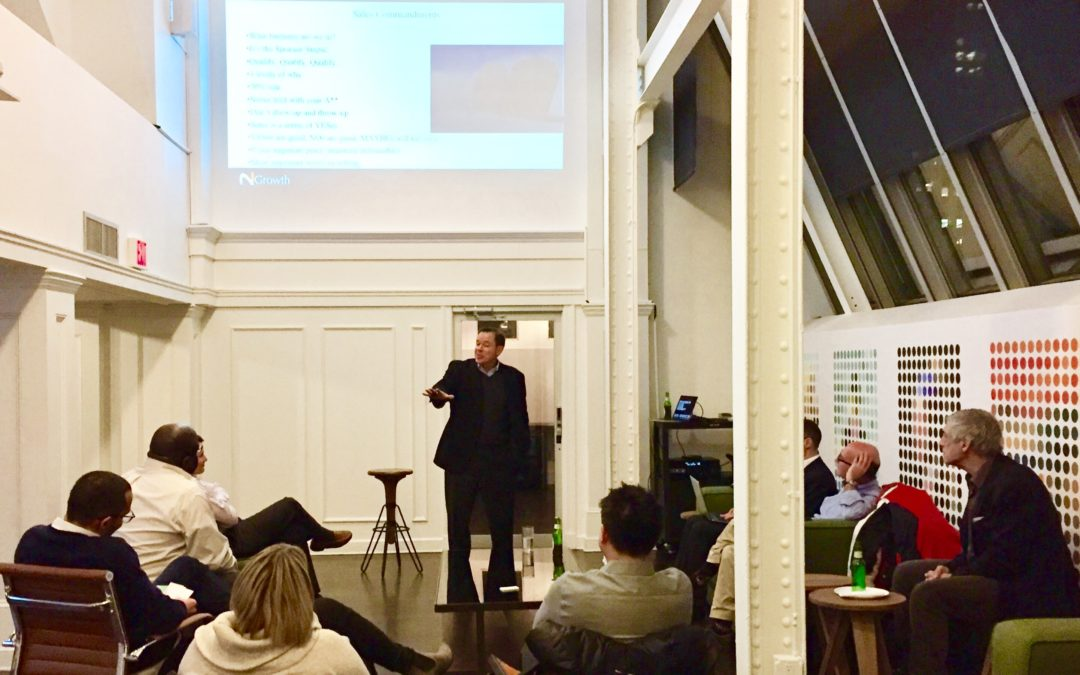 Sales Most Important Word? The answer at The Triana Group's co-hosted roundtable